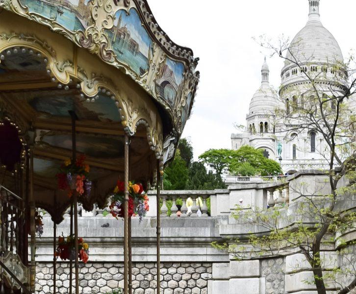 giostra Sacro Cuore voli Milano Parigi